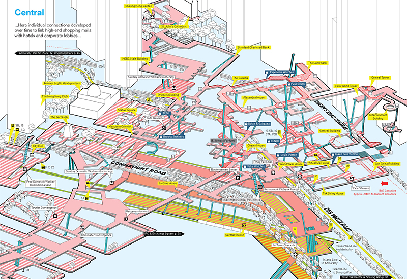 Above It All  Hong Kongs Pedestrian Infrastructure Created a