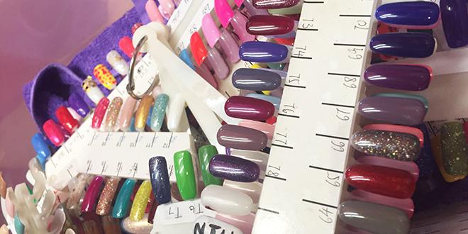 Nail salon supplies hong kong