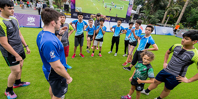 HKSEVENS Central Rugby Clinics