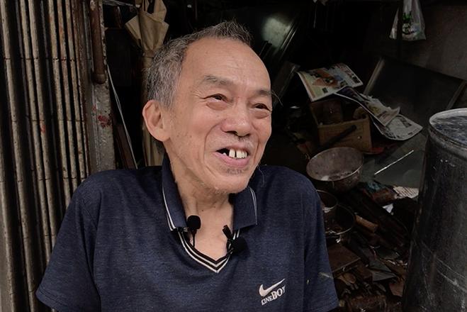 Hidden Hong Kong metalworker