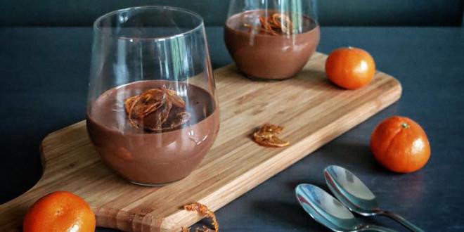christmas recipe chocolate orange mousse