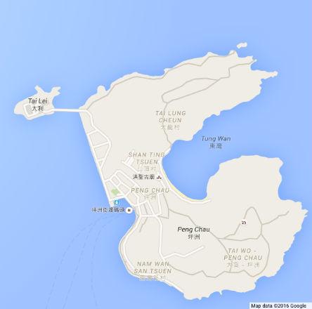 Peng Chau Map