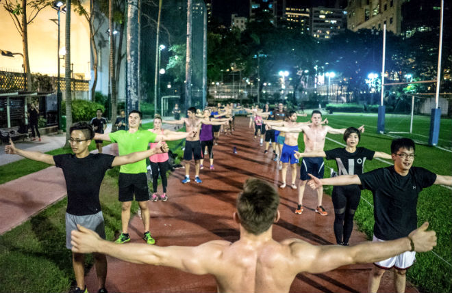 Urban Active Workout Space