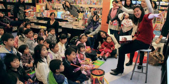 Bring Me a Book Volunteering Hong Kong Childrens Charity