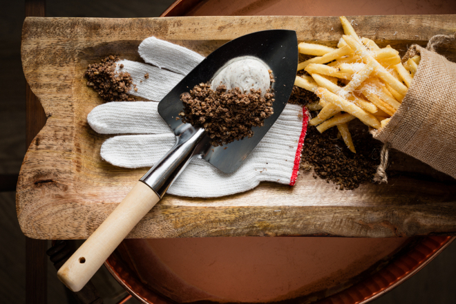 vea truffle fries hong kong