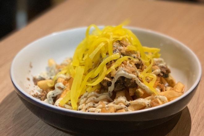 little bao diner truffle fries hong kong