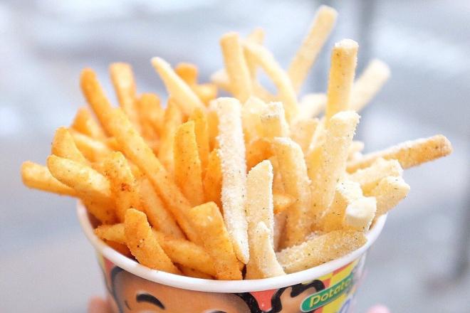potato corner truffle fries hong kong