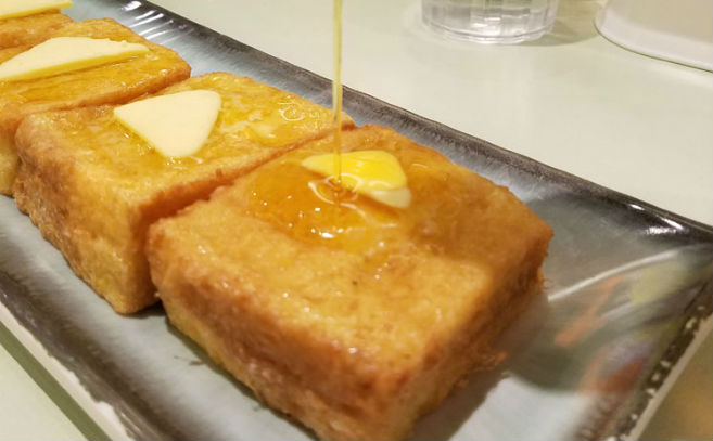 vegetarian food local hong kong restaurant french toast