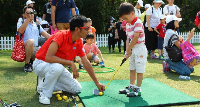 hong kong golf competition UBS open