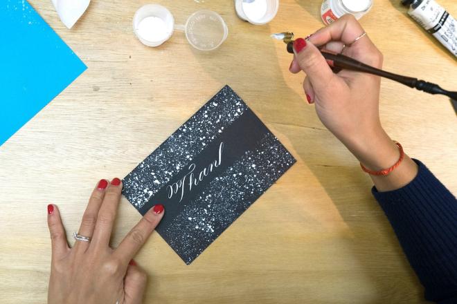 Kalo Make Art calligraphy