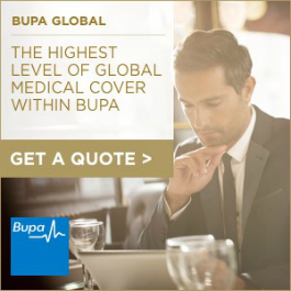 Bupa Directory Button Ad