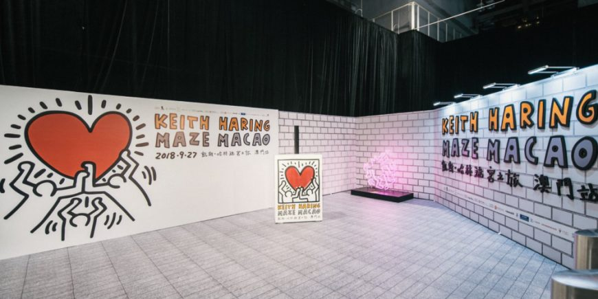 Legendary Artist Keith Haring Brings A-Maze-ing Exhibition to Macau 36f1f4077