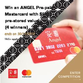 Angel Card – button