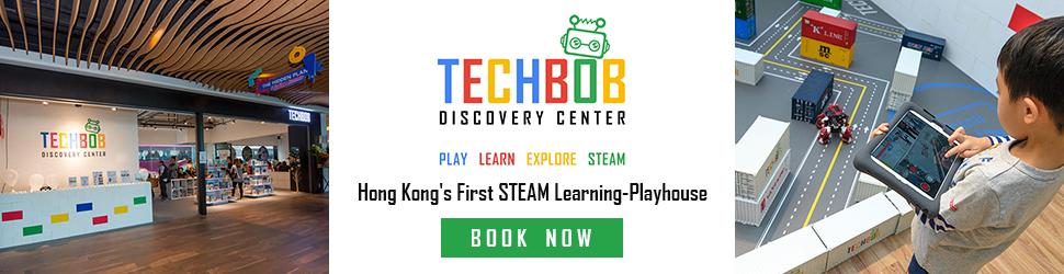Techbob Academy Footer