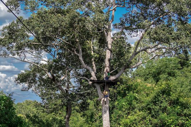 angkor zipline - things to do in siem reap