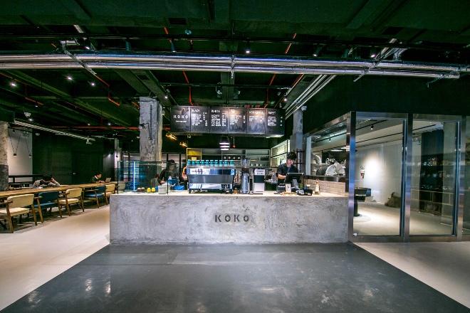 Koko Espresso The Mills Hong Kong: HK Heritage Site Art Hub