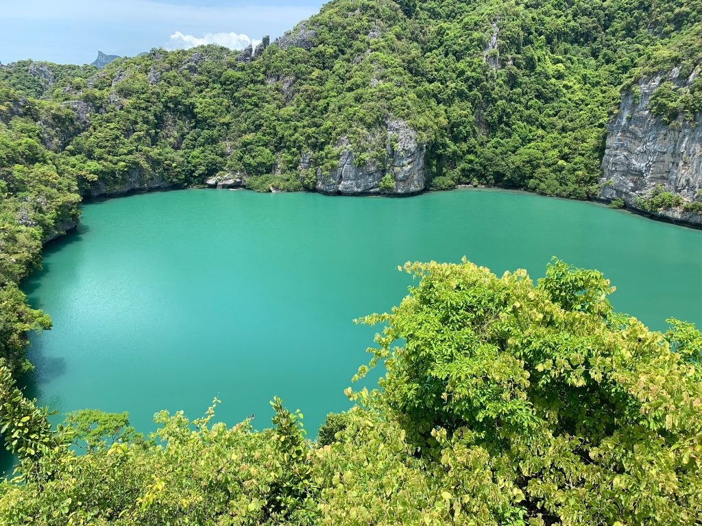 Emerald Lake, Angthong Islands