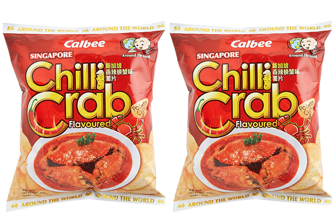 Calbee Chilli Crab
