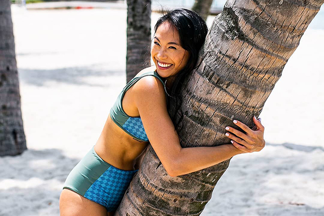 Eco-friendly swimwear in Hong Kong and Asia August Society