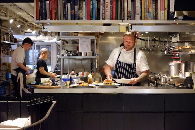 Jamie Draper Chef Mr Wolf