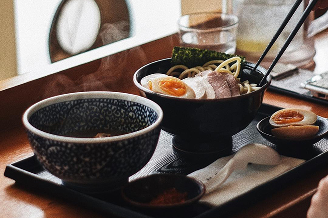 Tsukemen restaurants Hong Kong Menya Itto