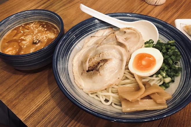 Tsukemen restaurants Hong Kong 鶴亀
