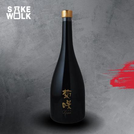Kikusaki Nana is one of the lowest rice polishing ratio sake in the world