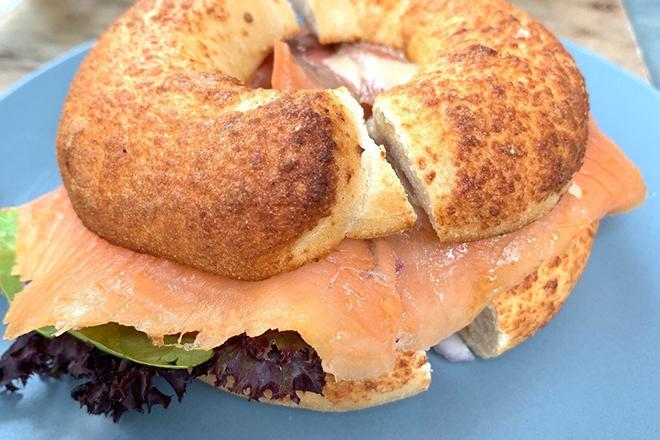 Best bagel sandwiches Hong Kong SP_CE