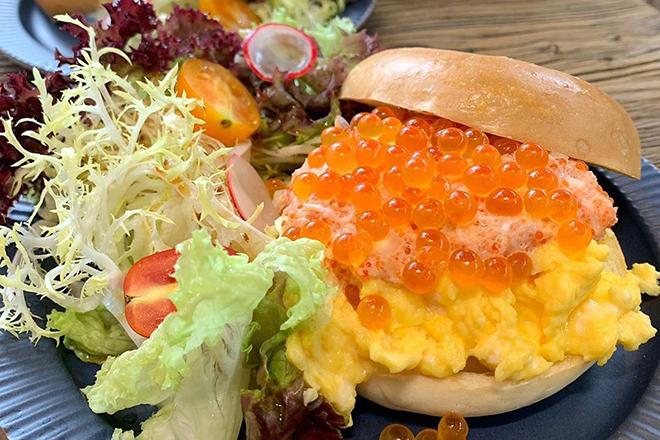 Best bagel sandwiches Hong Kong Cafe Zi