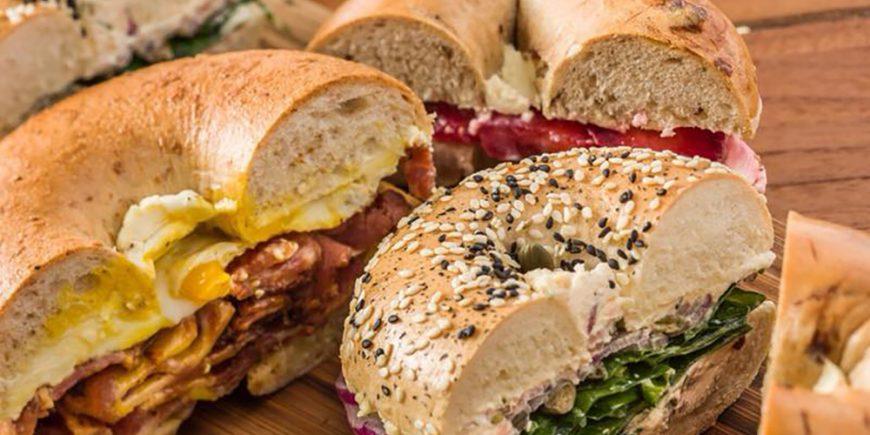 Best bagel sandwiches Hong Kong