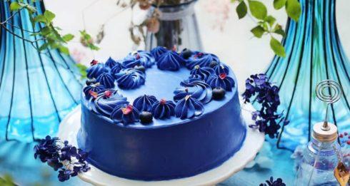 infiniti c blue cake