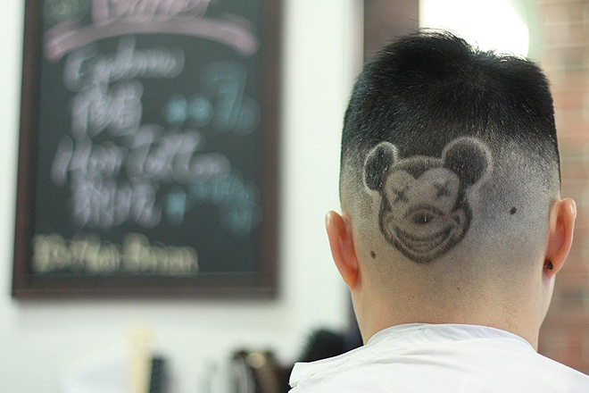 Hair tattoos Hong Kong