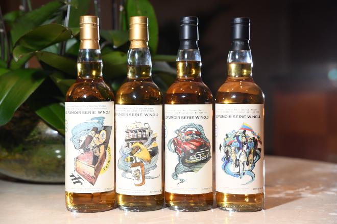 LeFumoirW whiskey live