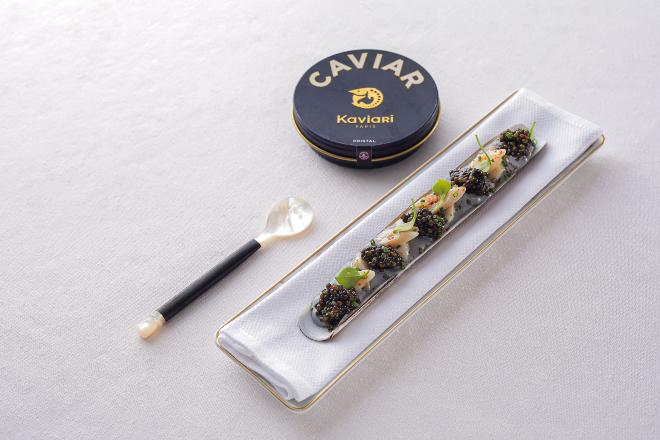 caviar LE KRISTAL KAVIARI L'Envol