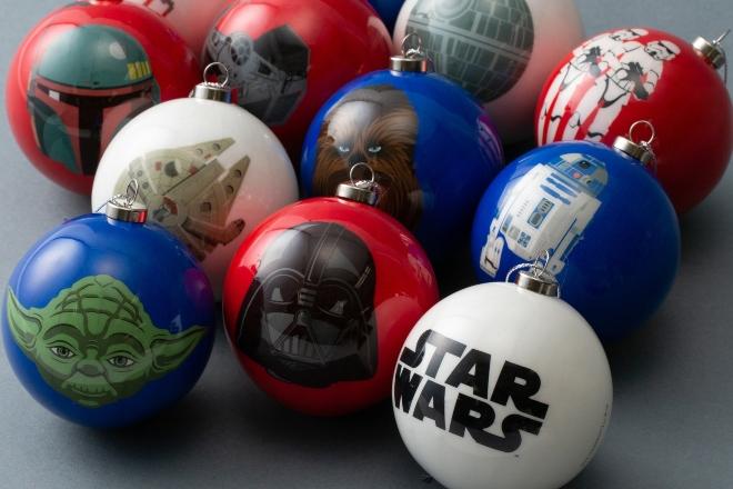 Star Wars Round ornament