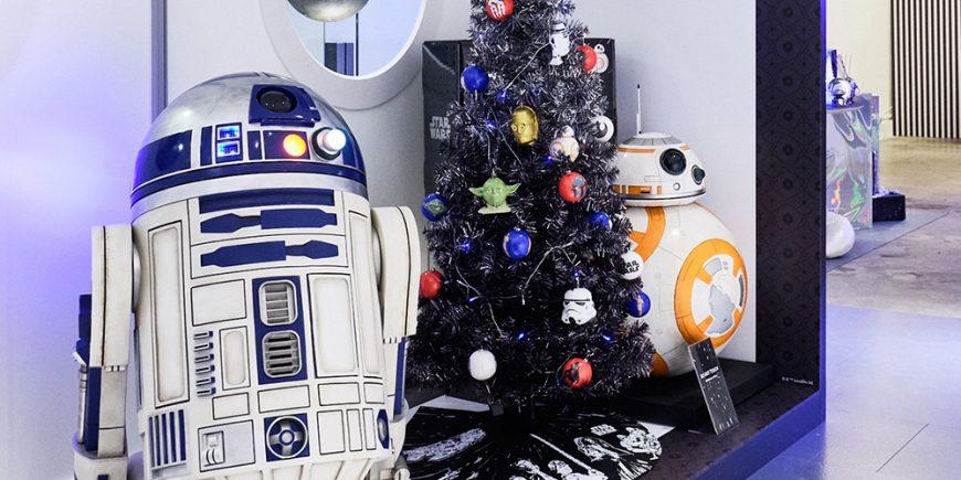 Star Wars Christmas tree