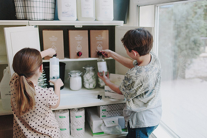 Eco-friendly shops Slowood