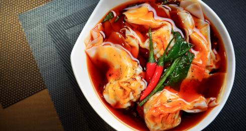 Chilli Fagara dumpling competition