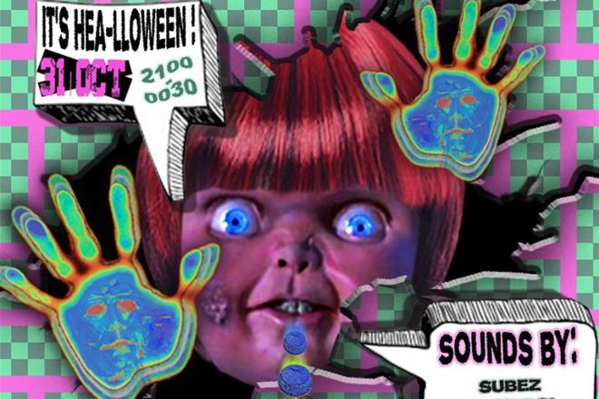 Terrible Baby halloween THÜR / NÎTĘ