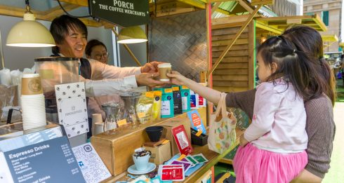tong chong street market coffee festival 2019