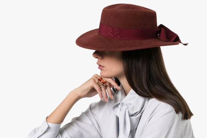 Ruslan Baginskiy logo fedora hat