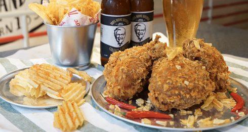 KFC Crispy Hot Spicy Chicken