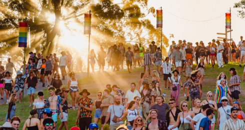Melbourne summer music festival