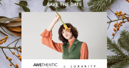 luxarity awethentic gallery Christmas pop up