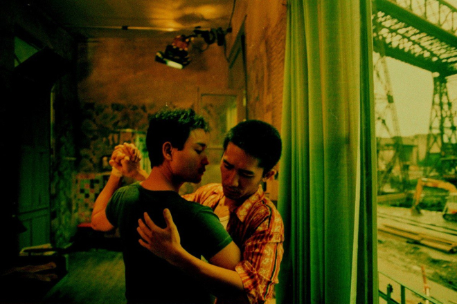 happy together leslie cheung tony leung