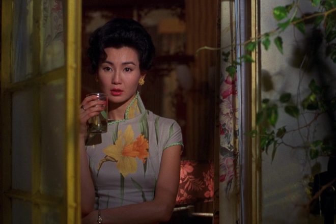 Maggie Cheung in the mood for love