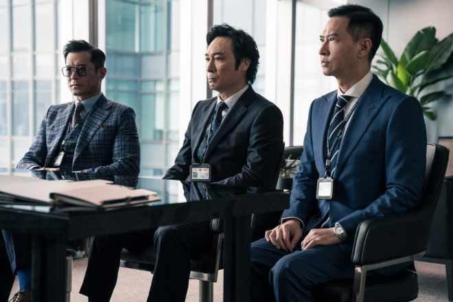 Nick Cheung Line Walker 2 movie