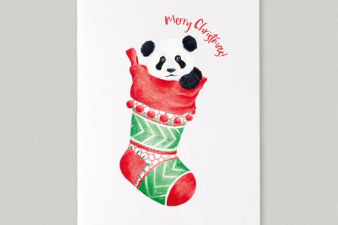 paper rose christmas card hong kong (1)