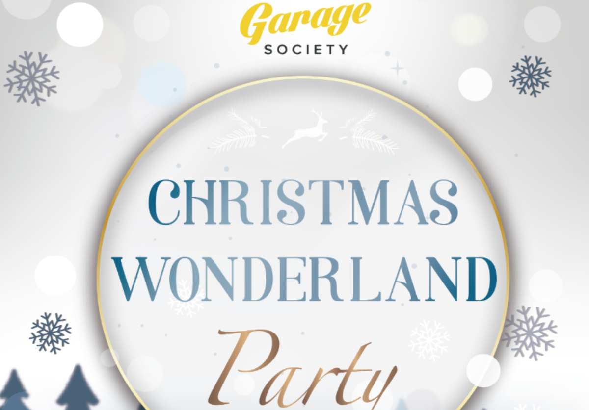 garage society christmas party