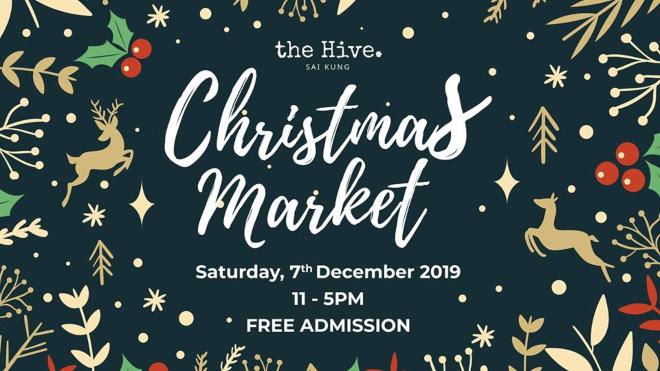 the hive sai king christmas market